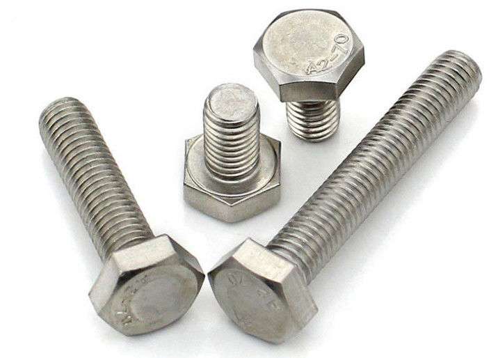 10mm Stainaless Steel Hex Head Bolts , Security Allen BoltsFull Thread Grade10.9